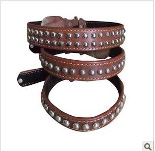 Manufacturers selling leather collar dog chain of traction with my dog chains(China (Mainland))