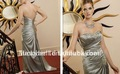 Hot sale Arab Cheap Ankle-Length Sleeveless Evening dress