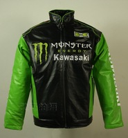 Men's Classic Cruiser Leather Jacket vm. leather jacket 98118,free shipping