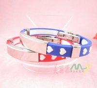 20pcs/lot ,Romantic Love Silica Gel Bracelet, Lady Bracelet Bangles A2241