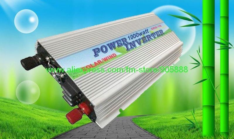 Dropshipping!!!Solar Inverter 1KW 1000W Grid Tie Inverter CP-GTI-1000W On Grid Inverter (CP-GTI-1000W)(China (Mainland))