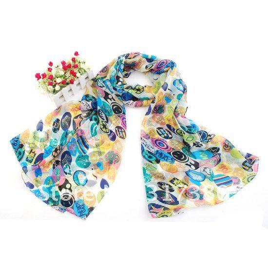 Scarves Women Designer Brand Spring Summer 2012 Mix 15 Models Silk  Designer Scarves For Women Silk