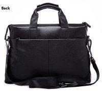 Genuine leather man handbag, shoulder bag, briefcase, laptop bag   Free Shipping