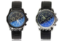 men's automatic  mechanical wrist watch multifunctional watch with 3 dials led 10pcs freeshipping