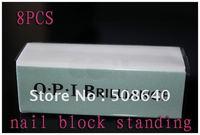 8pcs 4way Nail Art Shiner Buffer  Block For Nail File & Manicure High Quality  - FREESHIPPING 129
