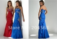 Free Shipping best selling Appliques Prom Dresses any size/color