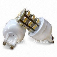 EMS/DHL Free Shipping hot selling 100pcs  Warm White 220-240V G9 48 SMD LED led bulb