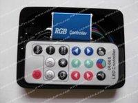 RGB remote controller for RGB Led strip RGB led controller 12V 12A 144W RGB Controller for SMD5050 LED strips RGB