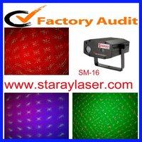 Red &green firefly +full color LED background laser light for club KTV disco dj