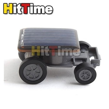 50pcs/lot Mini Solar Power Energy Car Racer Moving Toy  [3708|01|50]