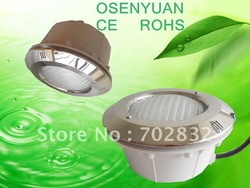 Free shippment! !4pieces/lot .558Led 40W rgb led underwater lamp RGB With out Remote(China (Mainland))
