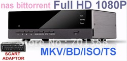 1080p HDMI HD Network DTS MKV Blue Ray ISO Media Player HDD PLAYER USB TV WIFI Scart RM/RMVB/AVI(Hong Kong)