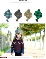 Wholesale Hot sell Children hats Cap ear hat winter hat,girl headwear