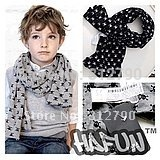 10pcs scarf baby fashion skulls print scarves,double-deck cotton scarf boys kids neckerchief,gift,