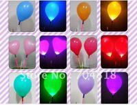 Free shipping LED ballon,Wedding Flashing LED light,LED toy,Christmas,New Year,party,Birthday,bar,1lot=60sets with120pcs ballons