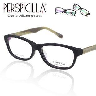 Genuine Pure myopia plate frames Female to male Glasses Plain mirror retro big box non-mainstream graining