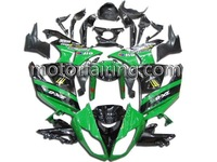 Aftermarket Complete set Motorcycle race fairing for KAWASAKI ZX-6R 09-10