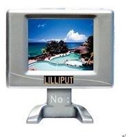 Free shipping, lilliput 2.5inch mini small size TFT  LCD CAR Monitor,CCTV camera Monitor,233GL-25NP