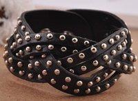 Wholesale 10pcs/lot Bronze  Diamond weaving Retro  chain/bracelet free shipping