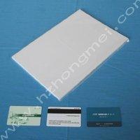 White inkjet printing PVC sheet(sample)