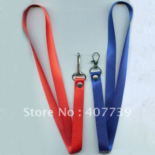 10mm width one pothook lanyard-strap, polyester string-customized ID badge holder/cardholder lanyard free shipping(China (Mainland))