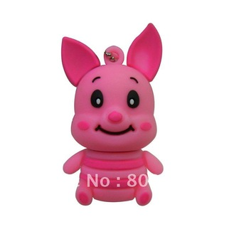 pink jump tiger usb sticks,best selling! promotion pupular usb flash drives