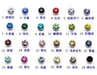 free shipping hot fashion jewelry round magnetic zircon earring