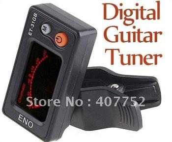 igital Chromatic LCD Guitar Tuner,Bass Tuner,guitar pickup,Free shipping