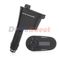 hot sale!!! Car MP3 Player Wireless FM Transmitter With USB SD MMC Slot