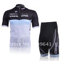 free shipping!promotion 2011 TREK Cycling Jersey Short Suit,short sleeve cycling wear,bike shorts,bicycle jersey