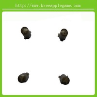 Brown ABXY +guide buttons with letter on for Xbox360 wireless controller