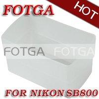 Free shipping!fotga wholesale Flash Bounce Diffuser for Nikon SB800 & YN460 YN460II Flashgun