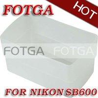 Free shipping!fotga wholesale Flash Bounce Diffuser for Nikon SB600 SB600DX Flashgun