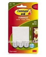 3M Command Damage-free Medium Picture hanging Strips(3 sets of Medium strips) 7cm X 1.8cm total weight capacity up to 4.5KG