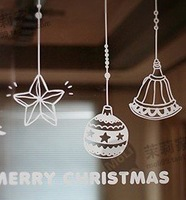 Wall sticker, window sticker, lovely chirstmas sticker free shipping