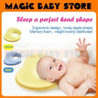 Free shipping baby's pillow  Memory foam, baby pillow shape, correct migraine, sleep a good head type