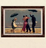 100% handmade high quality modern dance oil painting