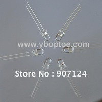 100pcs/lot  Yellow Orange Blue Green White 1 color LED diode