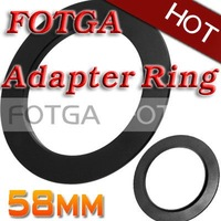 Free shipping!Fotga 58mm Adapter Ring for Cokin P series 58 mm