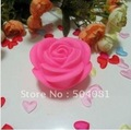 free shipping Colorful PINK Rose Light / Night Light Lamp LED Rose candle Light gradient romantic birthday weeding Valentine