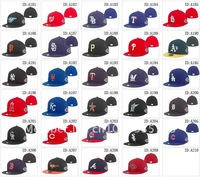 Free Shipping wholesale 10pcs/lot Baseball teams caps sports hats fitted on field hats basketball cap football hat Hockey cap