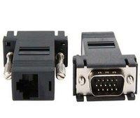 CAT5 CAT 6 VGA to RJ45 adapter