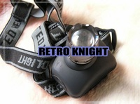 @@Retro Knight@@Outdoor CREE high power LED headed lamp  brightness LED headlights, hunting lamp, miner's LAMP,HeadLamp