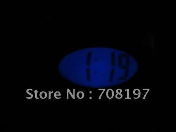 digital LCD smart light clock