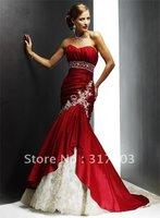 2011 New model high quality wholesale retail custom made organza Fabric Type beaded Technics ccktail dress TC0107