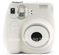 Free Shipping Original Fujifilm Instax instant mini7s camera  (white)+2packs films