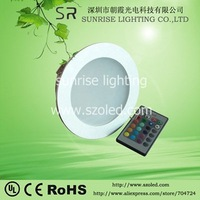 RGB led down light 28W