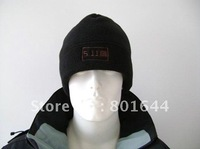 Winter hat,Tactical flleece hat,black and sand,511brand CAPS+free shipping