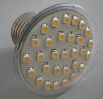 1.5W E27 Led Spot Light Aluminum SMD 3528 30pcs Leds Led bulb High Power LED spotlights Wholesale