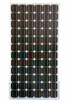 Factory Supply 190w monocrystalline solar panel /solar module for 24v battery